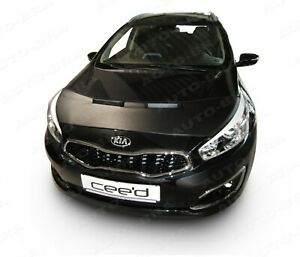 BONNET BRA for KIA Ceed ProCeed Cee'D 2012-2018 STONEGUARD PROTECTOR TUNING