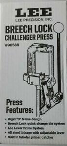 LEE BREECH LOCK CHALLENGER RELOADING PRESS SINGLE STAGE 90588  NEW IN BOX
