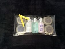 New MOLTON BROWN 7 Piece Luxury Travel Size Pamper Birthday Gift Set Zip-up Bag