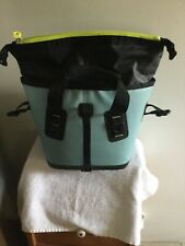 NEW BUILT New York Welded Insulated Soft Cooler Tote Bag TEAL