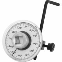 "360° 1/2"" Drive Torque Angle Gauge Meter Angle Rotation Measurer Tool Wrench RET"
