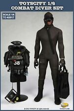 1:6 Diver Combat Frogman Set Seal Water Ghost Soldier Clothes Fit 12' Male Body