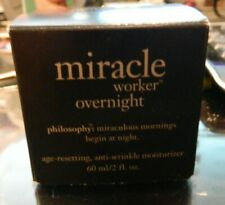 Philosophy Miracle Worker Overnight Age-Resetting Anti Wrinkle Moisturizer NEW