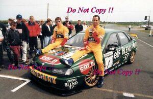 Jason Plato & Alain Menu Williams Racing Renault Laguna BTCC 1998 Photograph