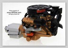 OLDSMOBILE ROCKET V8 ENGINE with TRANNY - 1/18 Acme Trading (GMP) #1808003E