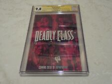 CGC SS Signature Series 9.8 Deadly Class #1 SYFY NYCC 2018 Signed By Cast Comic