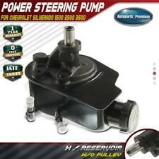 Power Steering Pump w/ Reservoir for GMC Sierra 1500 2001-2006 6.0L Gas
