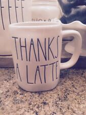 **CANADA EXCLUSIVE** Rae Dunn Thanks a Latte Mug - Very Rare VHTF