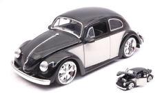 Volkswagen VW Beetle 1959 Light Black / Cream 1:24 Model JADA TOYS