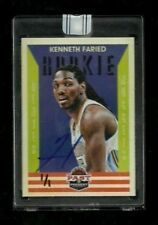 Kenneth Faried 2015-16 Past & Present REPLAY Auto Rookie #1/1! Denver Nuggets SP