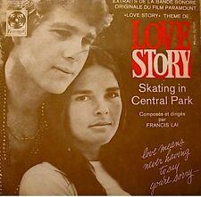 ++FRANCIS LAI love story/skating in central park BO SP RARE VG++