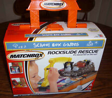 Matchbox Rockslide Rescue School Box Games – Brand New