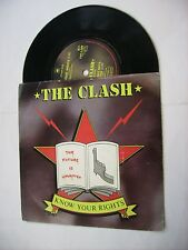 "CLASH - KNOW YOUR RIGHTS - 7"" VINYL EXCELLENT CONDITION UK 1982"