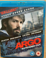 Argo Blu-Ray 2012 True Life Iran Americano Embajada Rehenes Película Extendido