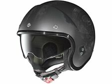 Casco Mini-jet Nolan N21 Speed Junkies Scratch Flat Asphalt Black 33 XXXL