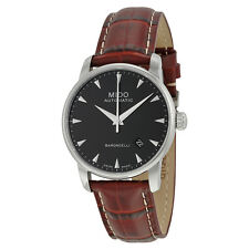 Mido Baroncelli Automatic Black Dial Mens Watch M86004188