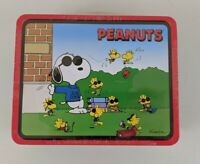 "Brand New Sealed Limited Edition ""Joe Cool"" Snoopy Peanuts Gang Lunchbox 1998"