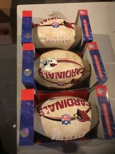 Lot Of 3 Arizona Cardinals Nfl Players Football - Full Size Limited 25000