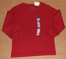 3t Nwt The Children's Place Basic Red Long Sleeve Shirt Top Boys