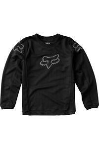 Fox Racing Youth Black 180 PRIX motocross jersey