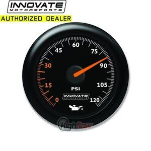 GENUINE Innovate 3859 MTX Analog, Oil Pressure Gauge Kit, Black Dial