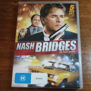 Nash Bridges the Third Season DVD Region All LIKE NEW FREE POST