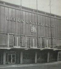 League Fixtures (1958-1969)