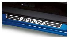 OEM 2017-2020 Subaru Impreza Side Sill Plates Metallic NEW E101SFL001 SET OF 4