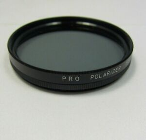 Used PRO 55mm POLARIZER PL Lens Filter ( Tiny scratch ) Made In JAPAN 6410046