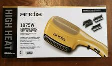 Andis 1875-Watt Tourmaline Ceramic Ionic Styling Hair Dryer.dual voltage
