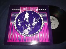 """THEE HYPNOTICS RECORD TITLED """"LIVE'R THAN GOD"""" LP USED WOW! L@@K! VINTAGE! RARE!"""