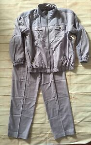 NWT 80s Vintage Silk Xposure Lavender Two Piece Outfit Size Large