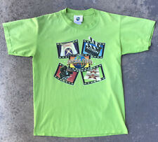 New listing Vintage 90s Universal Studios Orlando Florida T-Shirt Lime Green Size Medium