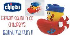 Children's Bathtime Fun Chicco CAPITANO Squirt N Go Age6m+ Regalo Ideale Nuovo di Zecca
