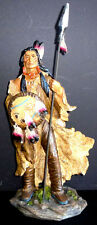 VISION QUEST  Standing Native American  Indian  Statue Figure Western  H17.5""