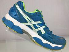 Asics Gel Nimbus 14 Running Sneaker Cross Training Blue/White Athletic shoes 6.5