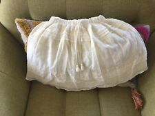 Pink Chicken Boho Cream Skirt Girls Size 8
