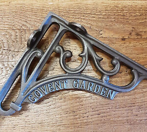 "A Single Cast Iron Covent Garden 7"" Shelf Bracket Railway / Vintage / Retro"
