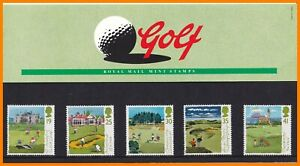 1994 GB Golf Royal Mail Presentation Pack No.249