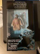 Hasbro Star Wars Black Series 6? Yoda Force Spirit Exclusive Action Figure