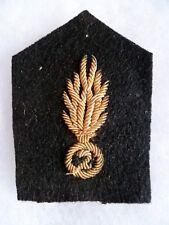 1 Patte de col uniforme WWII France 2° REGIMENT DE LA GARDE GENDARMERIE ou 2°LGM