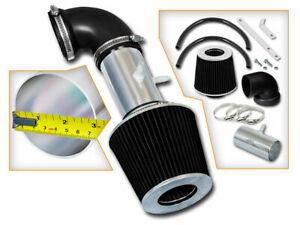 Short Ram Air Intake Kit + BLACK Filter for 01-04 Stratus Sebring 2.7L V6