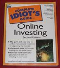 THE COMPLETE IDIOT'S GUIDE TO ONLINE INVESTING ~ Doug Gerlach ~ Second Ed