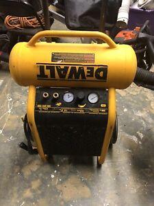 DEWALT D55146 4.5 Gallon Wheeled Portable Air Compressor, GD