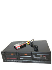 Akai Double Cassette Deck Hx-A301W Dolby stereo System vintage electronics
