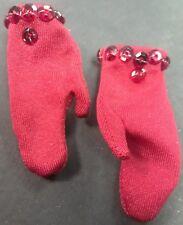 """Red Gloves for Ashton-Drake Gene 15"""" Doll"""