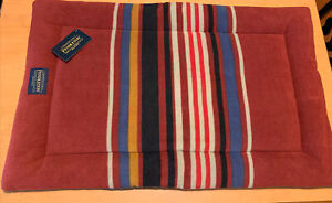Pendleton Dog Bed Comfort Cushion Red Mountain Stripe