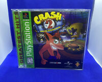 Crash Bandicoot 2 Cortex Strikes Back (Sony PlayStation 1 PS1, 2000) Complete