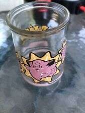 Welch's POKEMON CLEFAIRY Jelly Jar Glass # 35 1999 Collectible