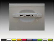 VAUXHALL  Premium Door Handle Decals Stickers X2